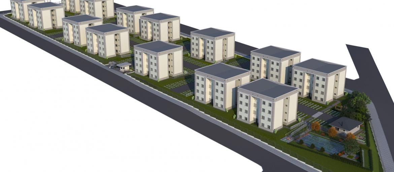 Mapa do condomínio