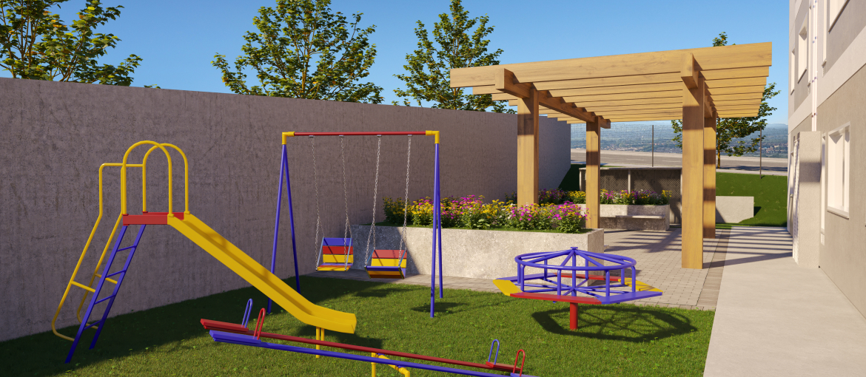 Pergolado e Playground
