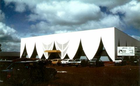 Edifício da Reitoria da UNIOESTE